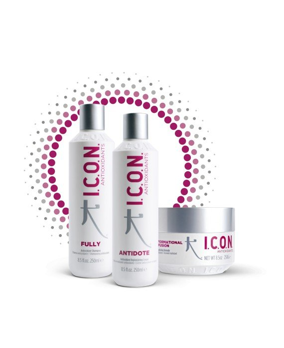 Tratamiento Icon Pack Antioxidant Fully - Infusion - Antidote PACKS PELUQUERIA