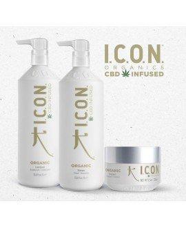 Pack Organics Litros. Champú 1L, Acondicionador 1L y Mascarilla. Productos para el lavado y cuidado del cabello