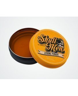 Pomada Skull Men Hair Strong Fijación Fuerte (Amarilla)