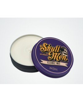Skull Men Hair Wax Flexible. Cera Fijación flexible (Lila) Ceras y pomadas para el pelo