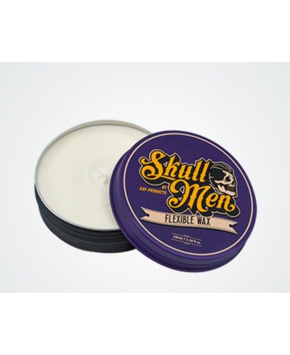 Skull Men Hair Wax Flexible. Cera Fijación flexible Ceras y pomadas para el pelo