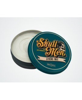 Skull Men Hair Wax Strong. Fijación fuerte.