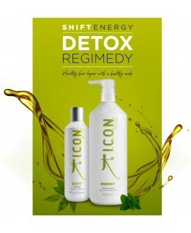 Pack Icon Detox (Shift+Energy 1L) PACKS PELUQUERIA