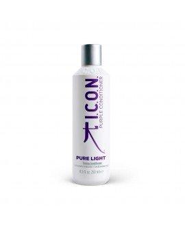 Icon Pure Light. Acondicionador Matizador Púrpura Acondicionador Reestructurante y Protección color
