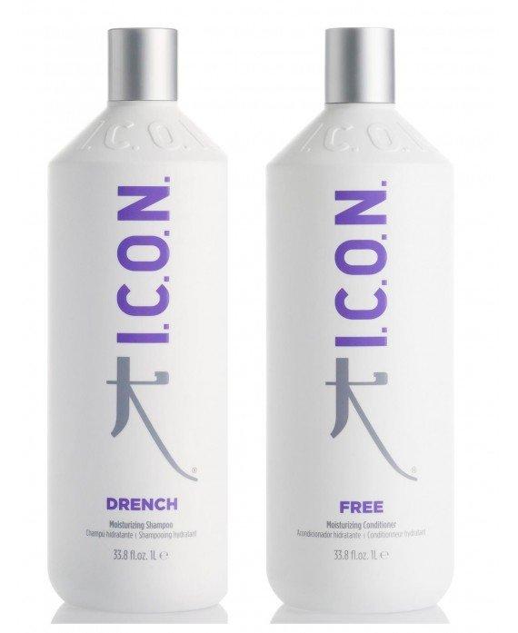 Pack Hidratacion Litros (Drench+free) PACKS PELUQUERIA