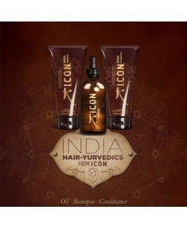 Pack Tratamiento Icon India Nutritivo (Oil+Champú+Acondicionador)