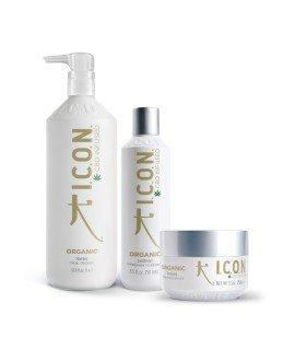 Pack Organics Litros. Champú 1L , Acondicionador y Mascarilla. Productos para el lavado y cuidado del cabello
