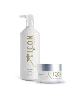 Pack Organics Litros. Champú 1L + Mascarilla. Productos para el lavado y cuidado del cabello