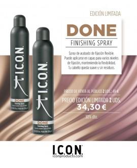 Icon duo Done. Spray fijación Flexible