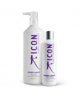 Icon Pure Light. Champú 1 L y Acondicionador Productos para el lavado y cuidado del cabello