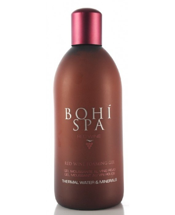 Bohi Spa Gel Moussante Vino Rojo Red Wine Foaming Gel GEL CORPORAL