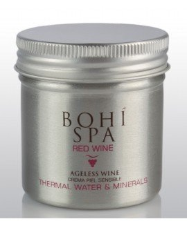 Bohi Spa Crema Antiedad Pieles Sensibles Ageless Wine HIDRATANTES FACIALES
