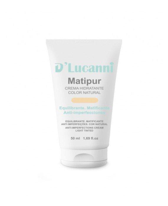 D´Lucanni Matipur color Natural. Crema Hidratante TRATAMIENTO HIDRATANTE
