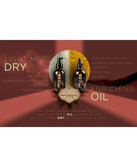 India duo OIL Y DRY OIL PACKS PELUQUERIA