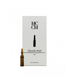 Medical Cosmetics. Ampollas Glicolico 20x 2ml. TRATAMIENTO REGENERADOR