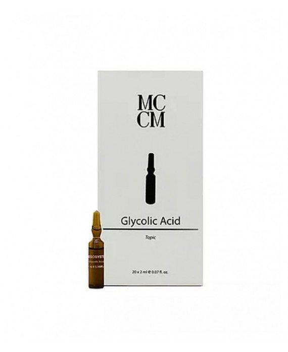 Medical Cosmetics. Ampollas Glicolico 20x 2ml. TRATAMIENTO REGENERADOR