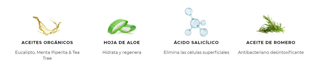Ingredientes Detox